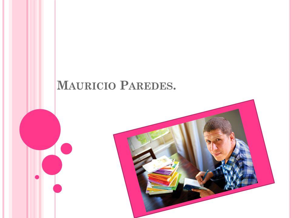 Mauricio Paredes.