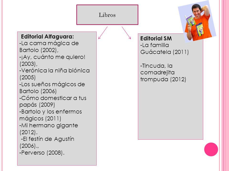 Libros. Libros Editorial Alfaguara: Editorial SM