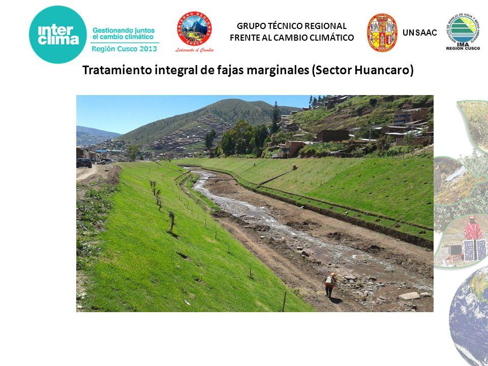 Tratamiento integral de fajas marginales (Sector Huancaro)