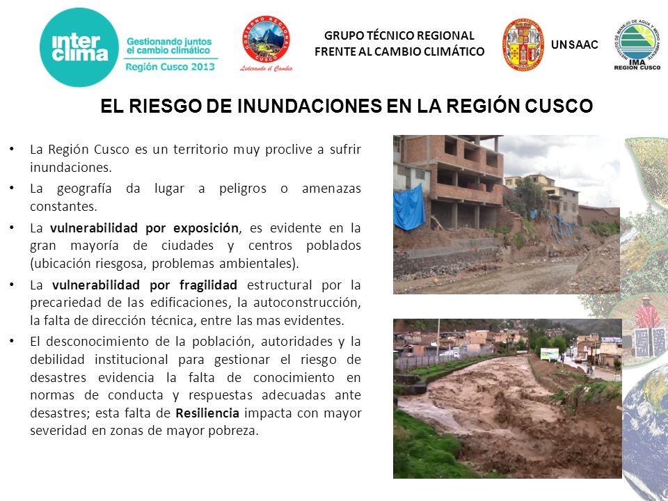EL RIESGO DE INUNDACIONES EN LA REGIÓN CUSCO