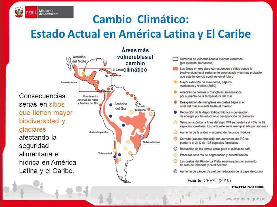 Cambio Climático: Estado Actual en América Latina y El Caribe
