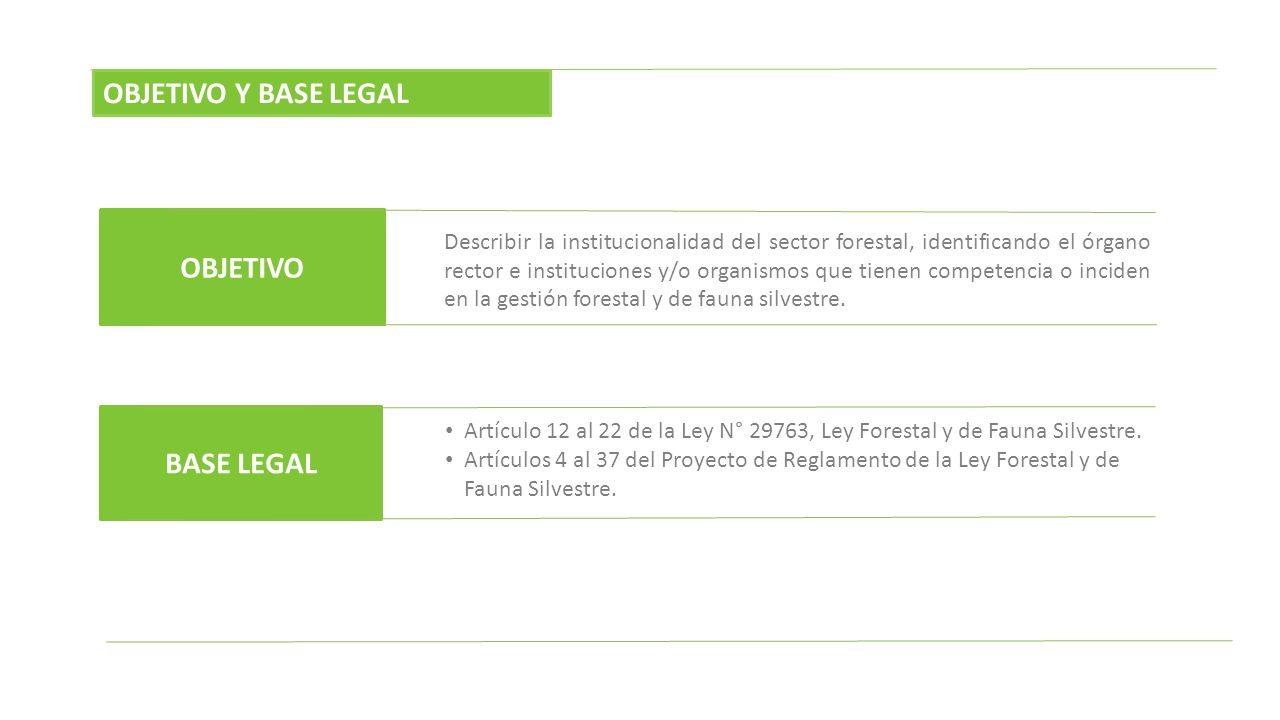 OBJETIVO Y BASE LEGAL OBJETIVO BASE LEGAL