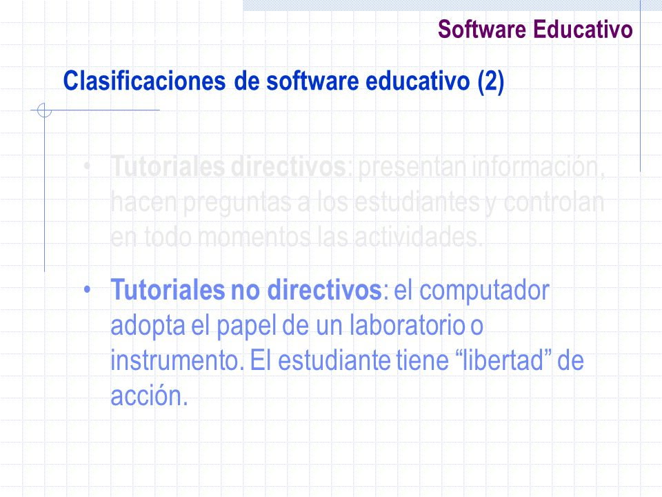 Clasificaciones de software educativo (2)
