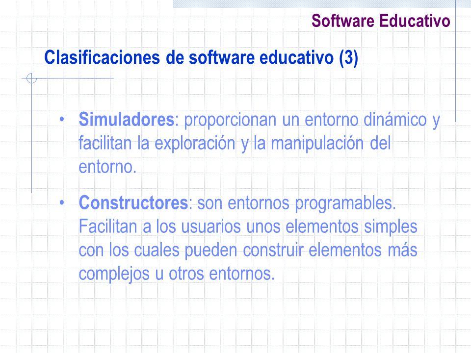 Clasificaciones de software educativo (3)