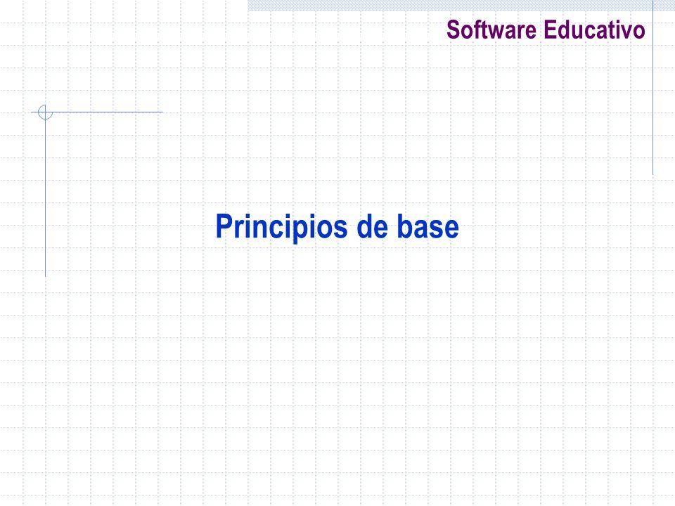 Principios de base
