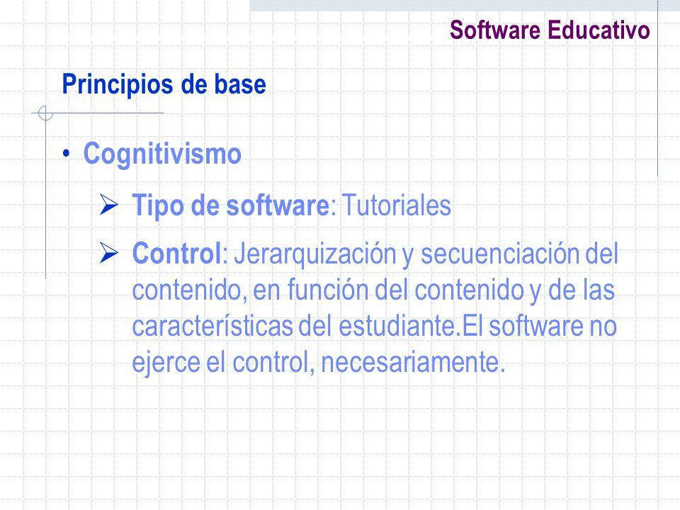 Tipo de software: Tutoriales
