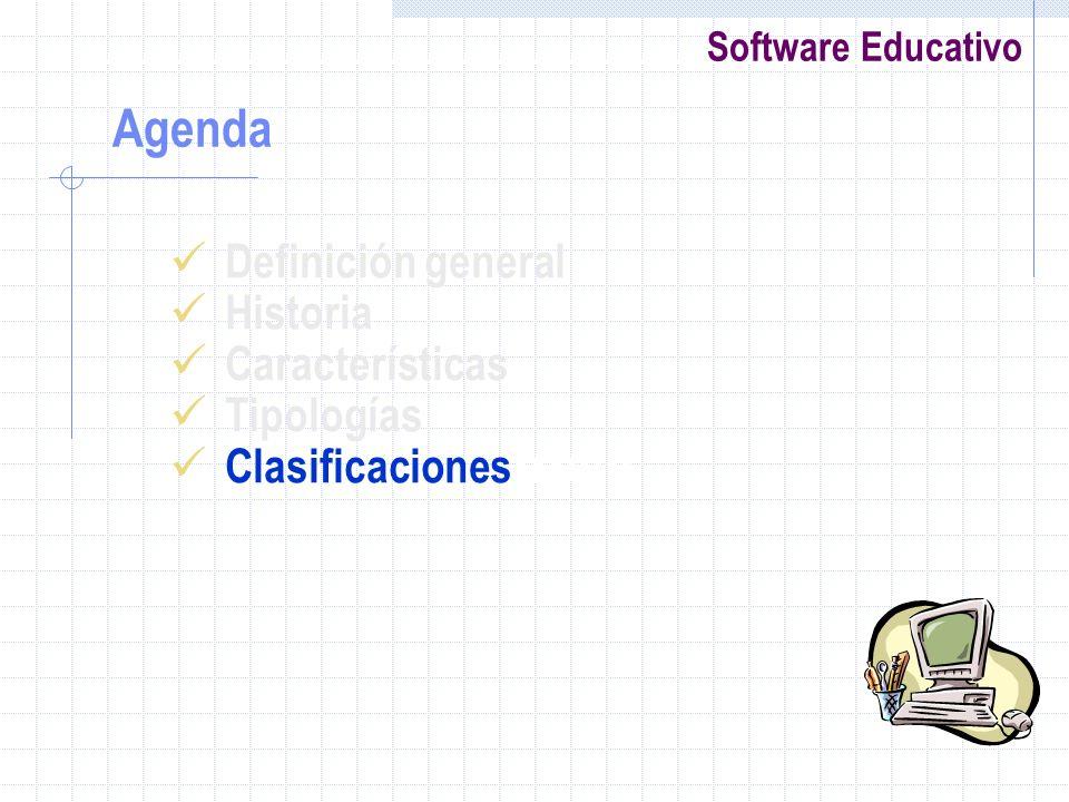 Agenda Definición general Historia Características Tipologías