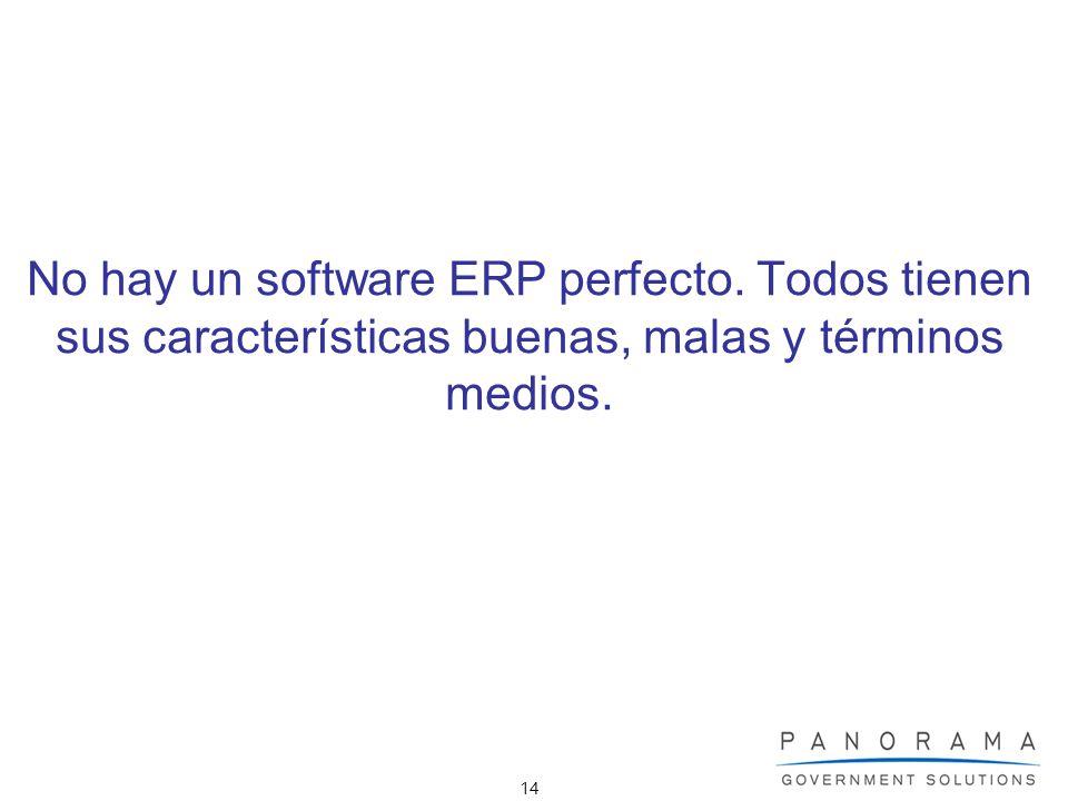 No hay un software ERP perfecto