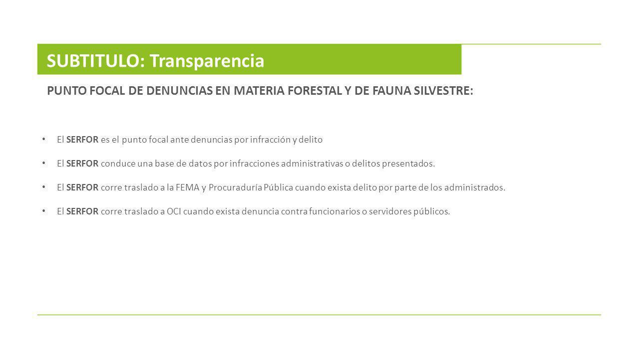 SUBTITULO: Transparencia