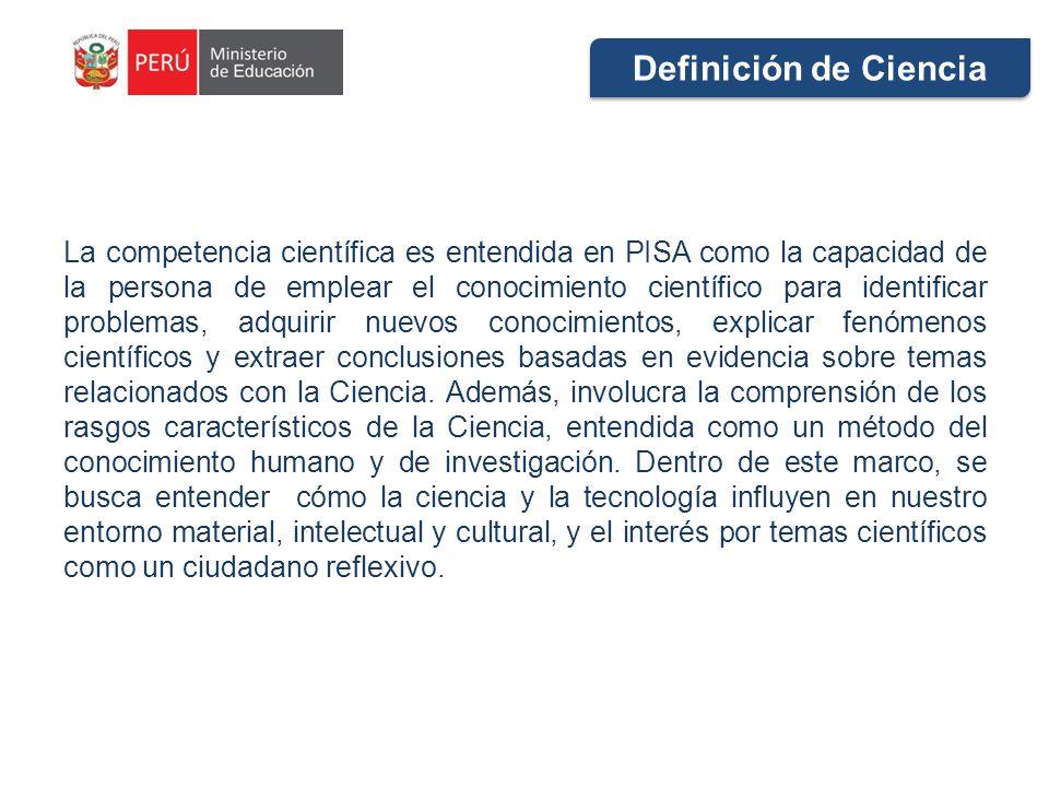 Definición de Ciencia