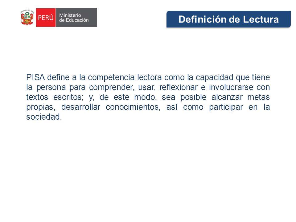 Definición de Lectura