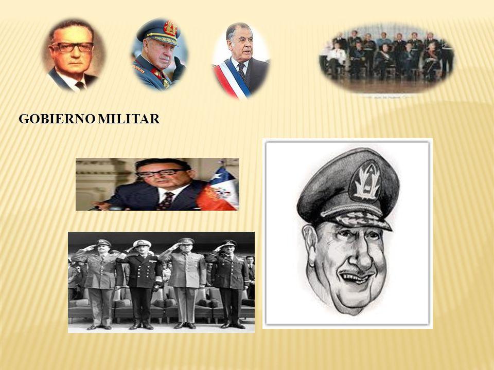 . GOBIERNO MILITAR