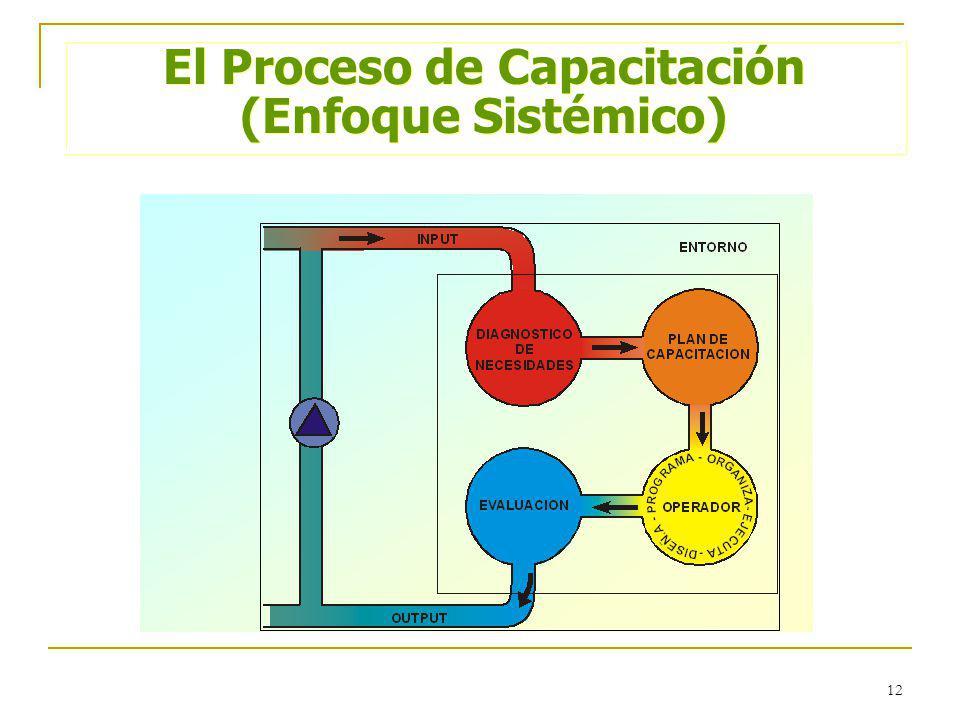 El Proceso de Capacitación