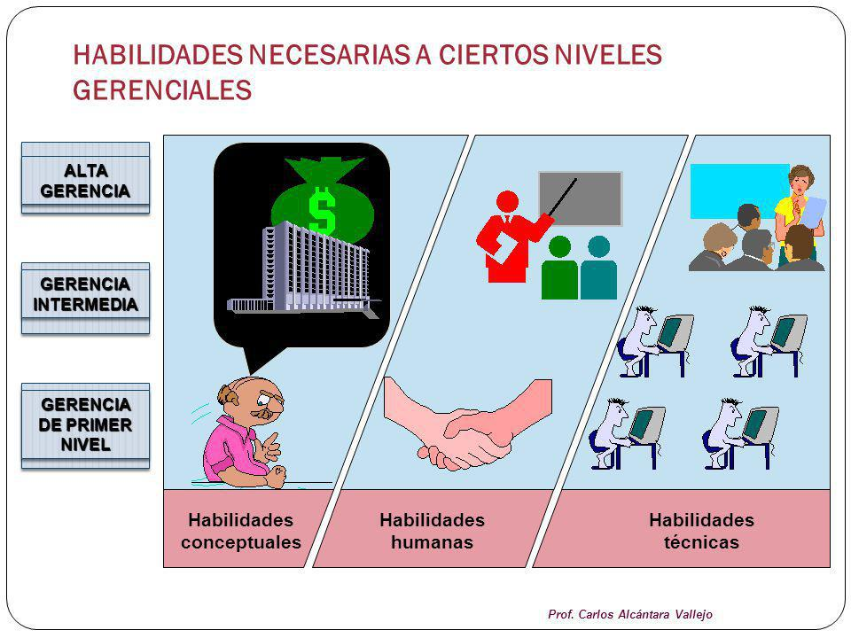 HABILIDADES NECESARIAS A CIERTOS NIVELES GERENCIALES