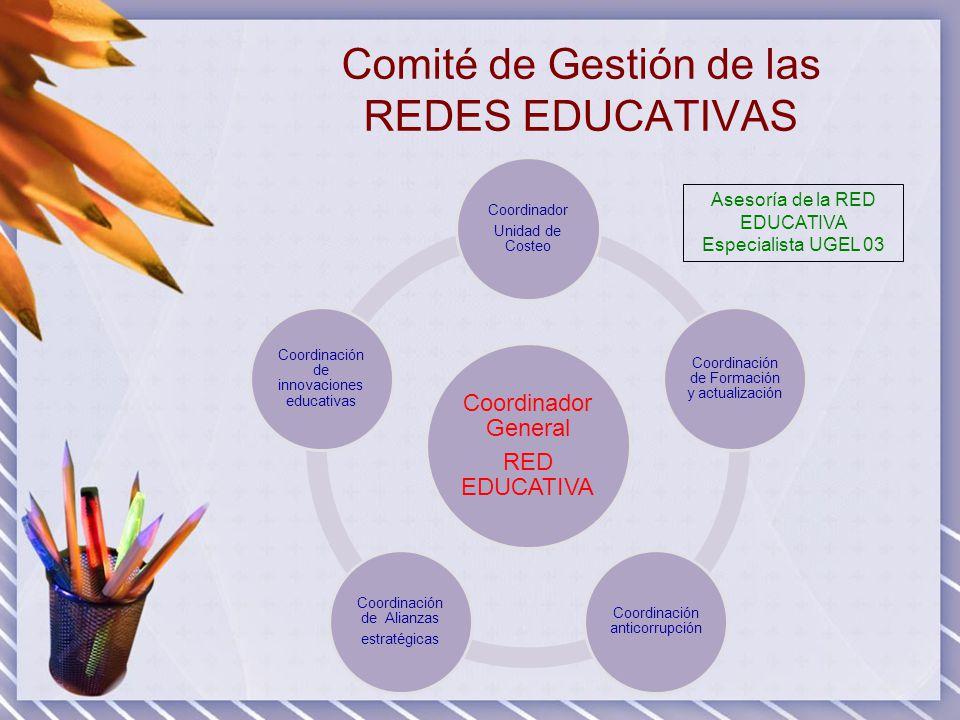Comité de Gestión de las REDES EDUCATIVAS