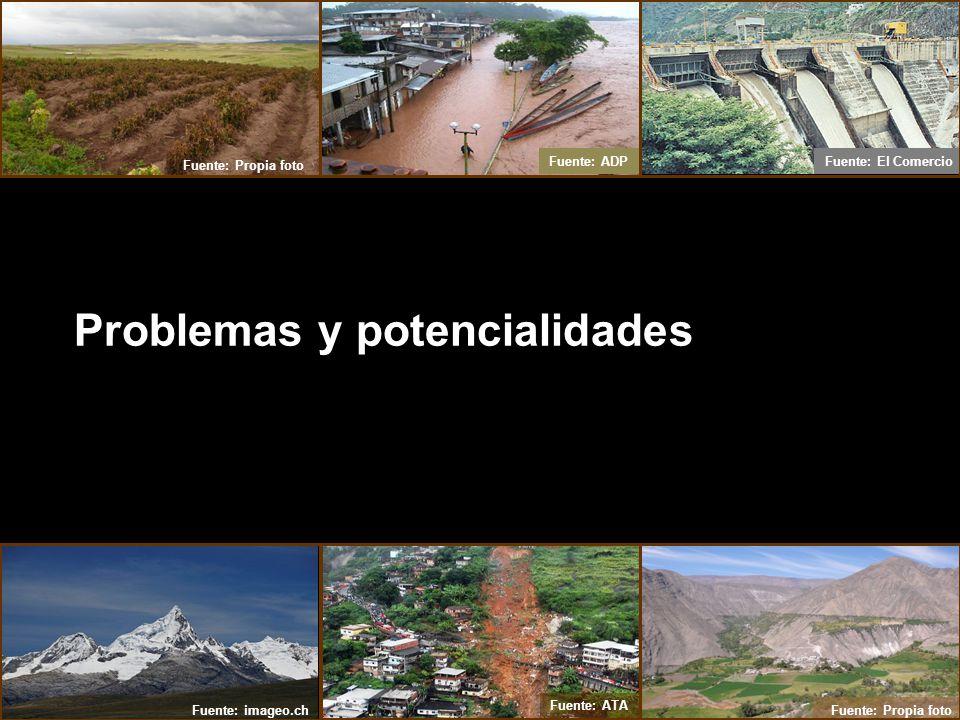 Problemas y potencialidades