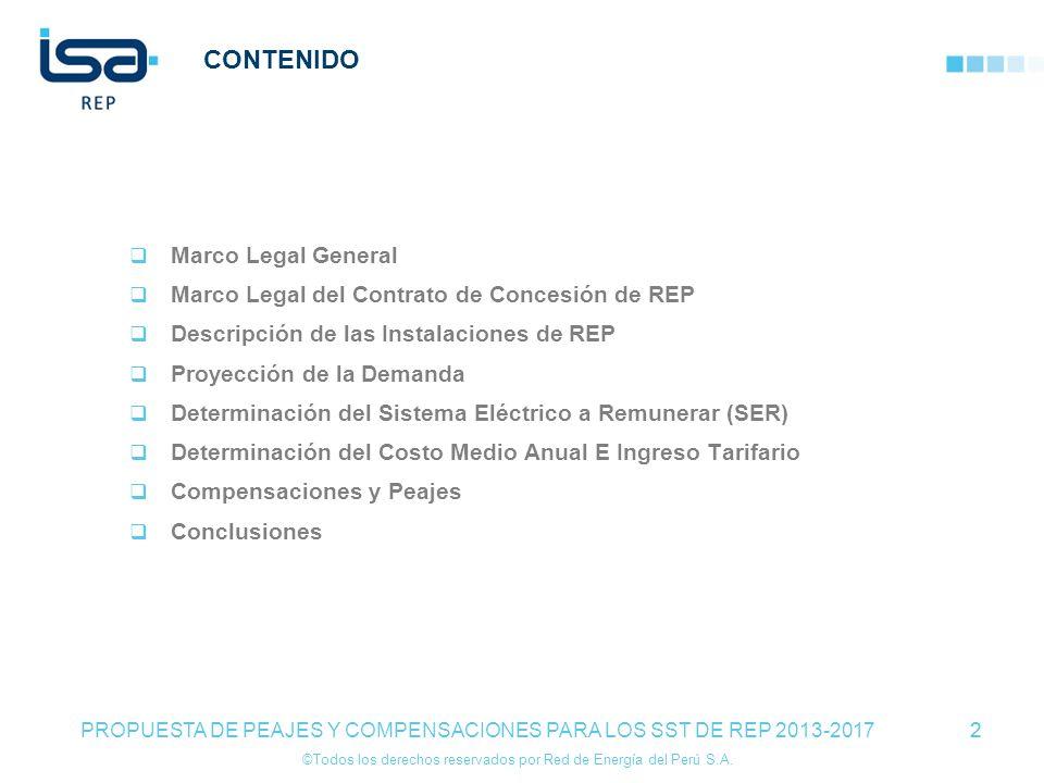 CONTENIDO Marco Legal General