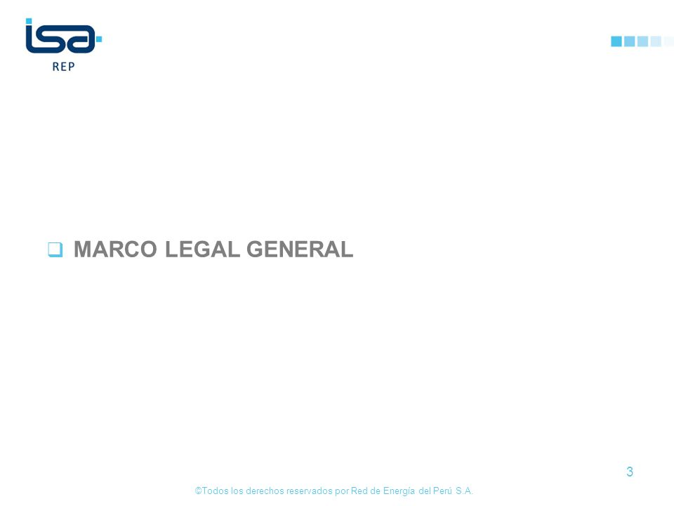 MARCO LEGAL GENERAL