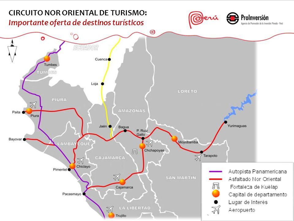 CIRCUITO NOR ORIENTAL DE TURISMO: