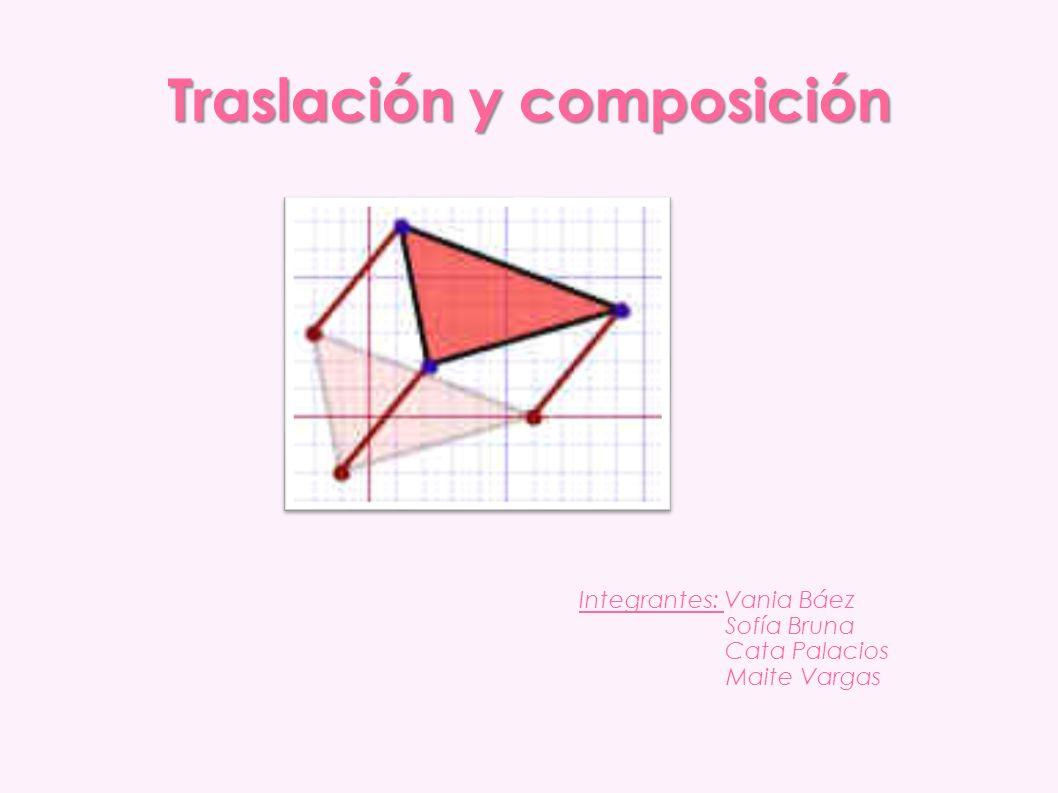 Traslación y composición