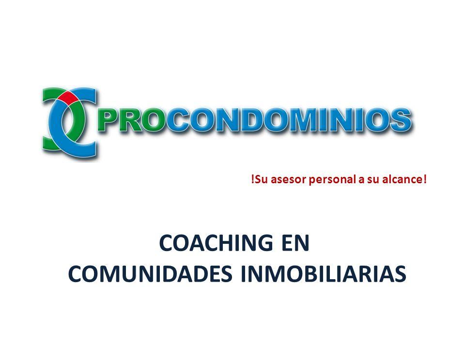 Coaching en comunidades inmobiliarias