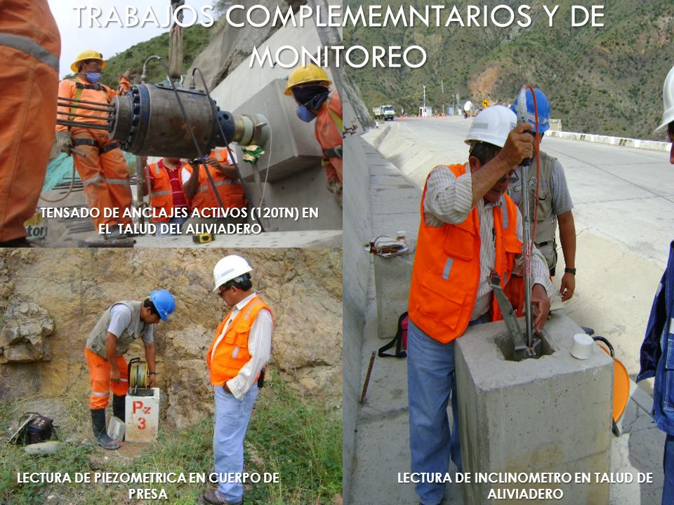 TRABAJOS COMPLEMEMNTARIOS Y DE MONITOREO