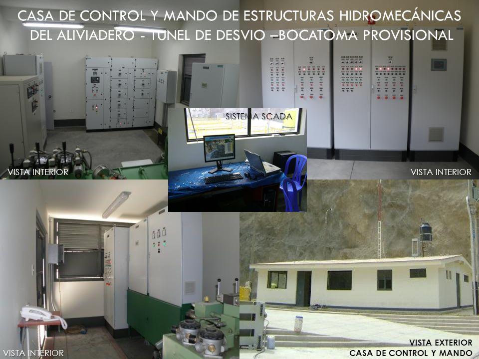 CASA DE CONTROL Y MANDO DE ESTRUCTURAS HIDROMECÁNICAS