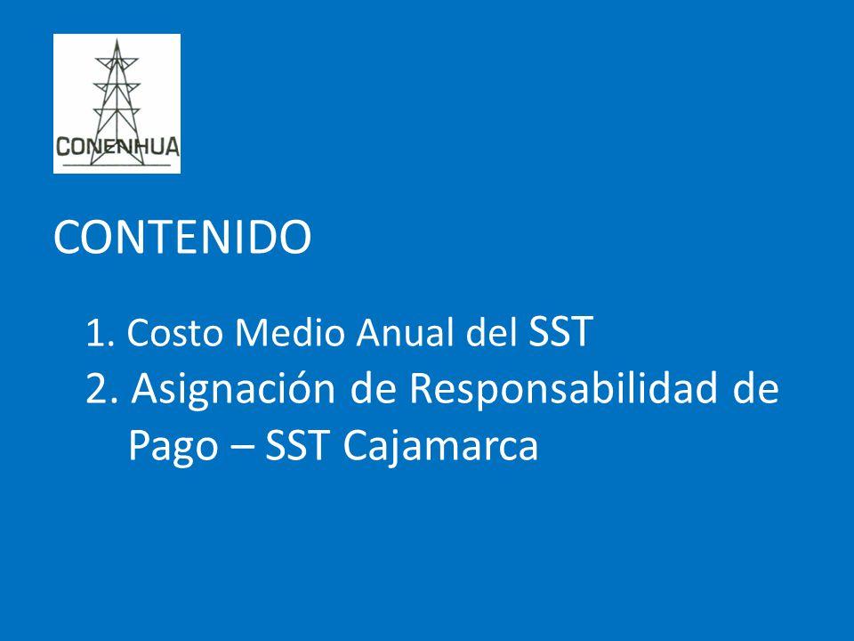 CONTENIDO 2. Asignación de Responsabilidad de Pago – SST Cajamarca