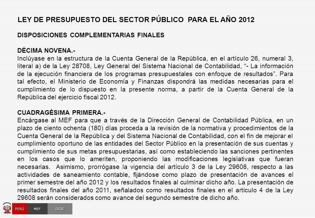 CUENTAS BANCARIAS DE ENTIDADES FINANCIERAS PÚBLICAS
