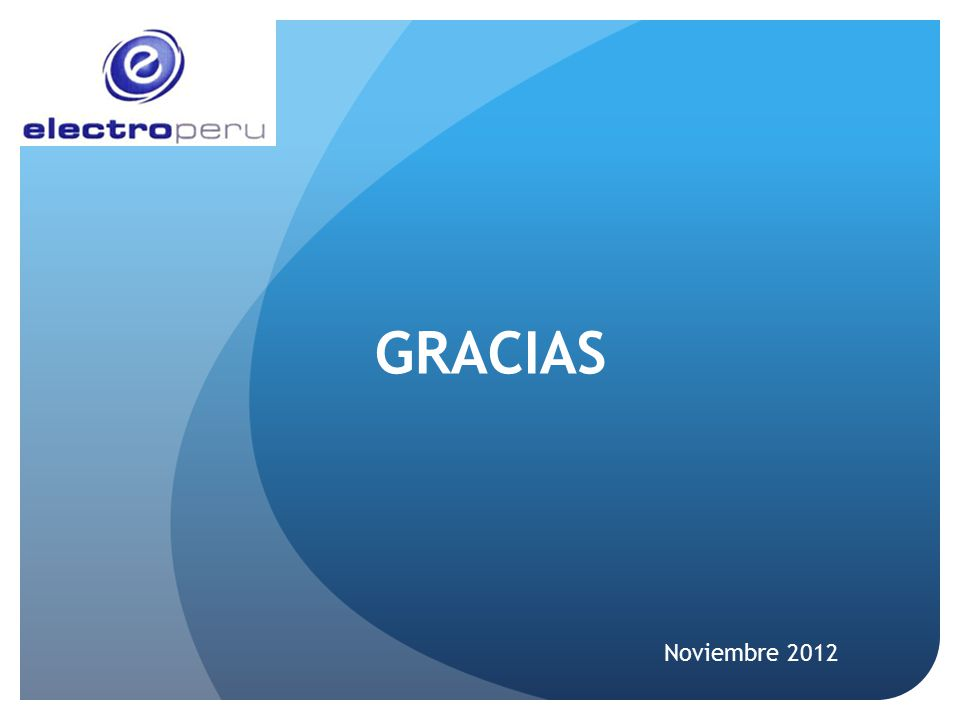 GRACIAS Noviembre 2012