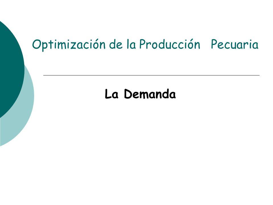 Optimización de la Producción Pecuaria