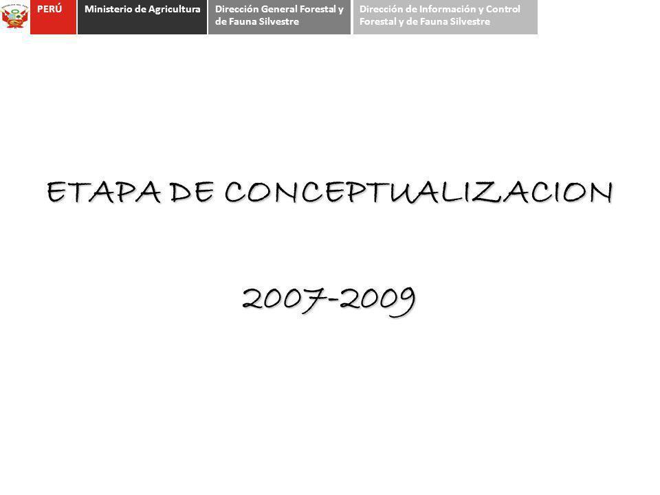 ETAPA DE CONCEPTUALIZACION