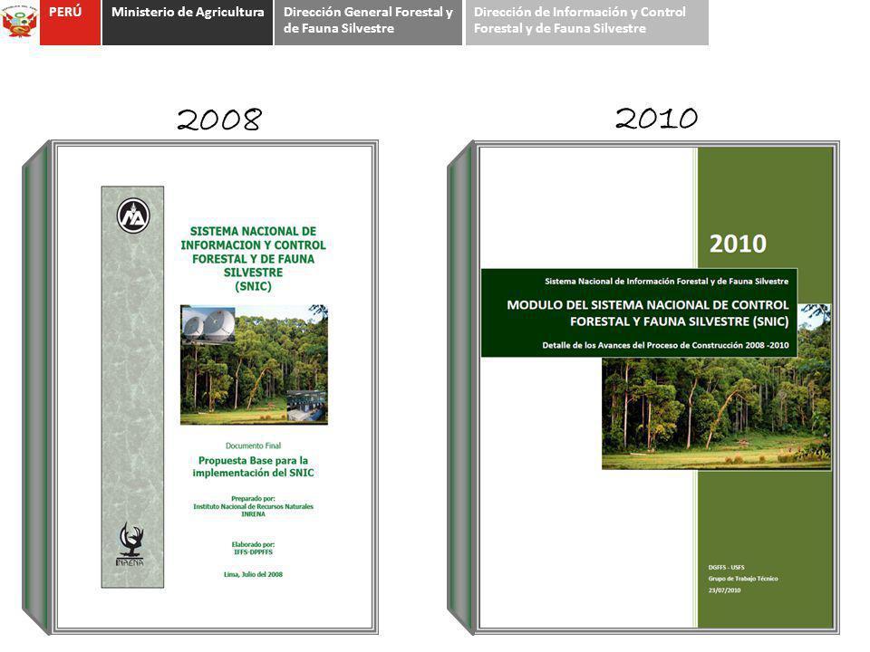 2008 2010 PERÚ Ministerio de Agricultura