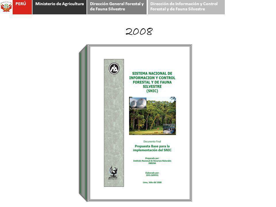 2008 PERÚ Ministerio de Agricultura