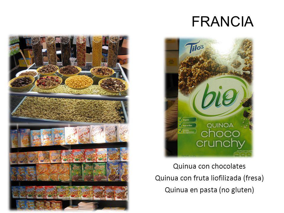 SIAL 2010 FRANCIA Quinua con chocolates