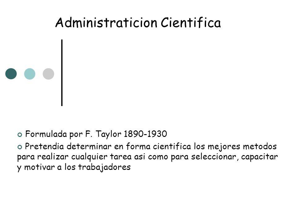 Administraticion Cientifica