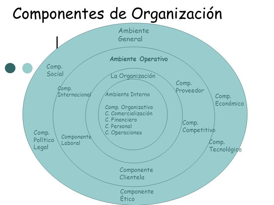 Componentes de Organización