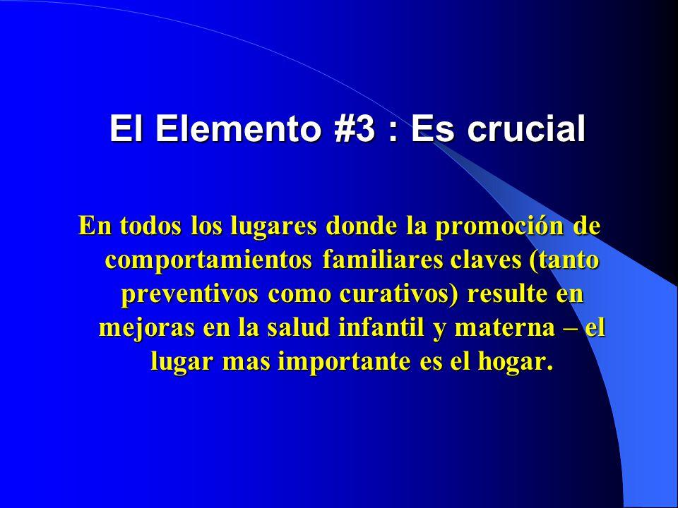 El Elemento #3 : Es crucial