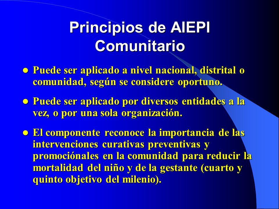 Principios de AIEPI Comunitario