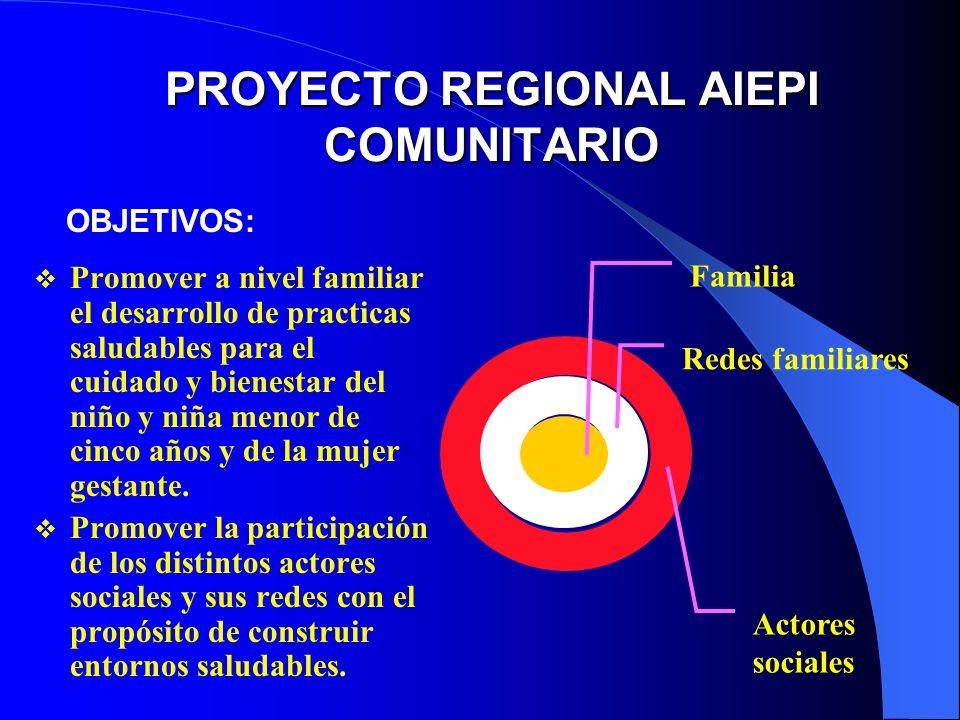 PROYECTO REGIONAL AIEPI COMUNITARIO