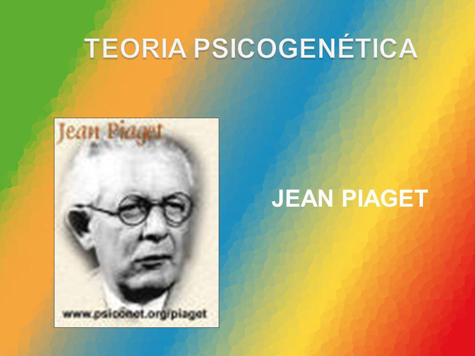 TEORIA PSICOGENÉTICA JEAN PIAGET