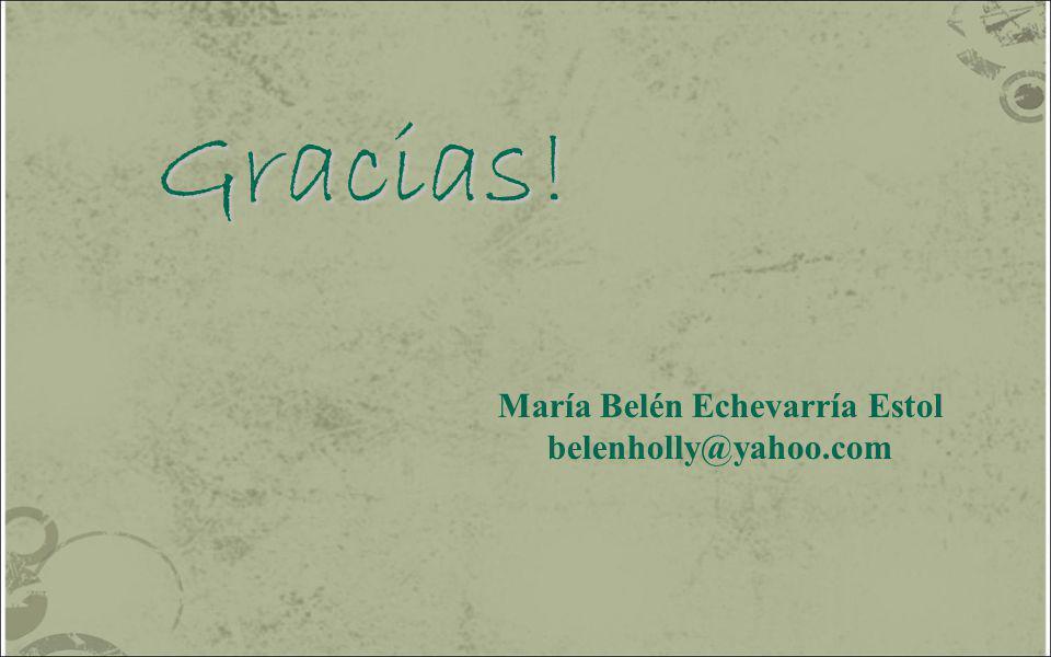 María Belén Echevarría Estol