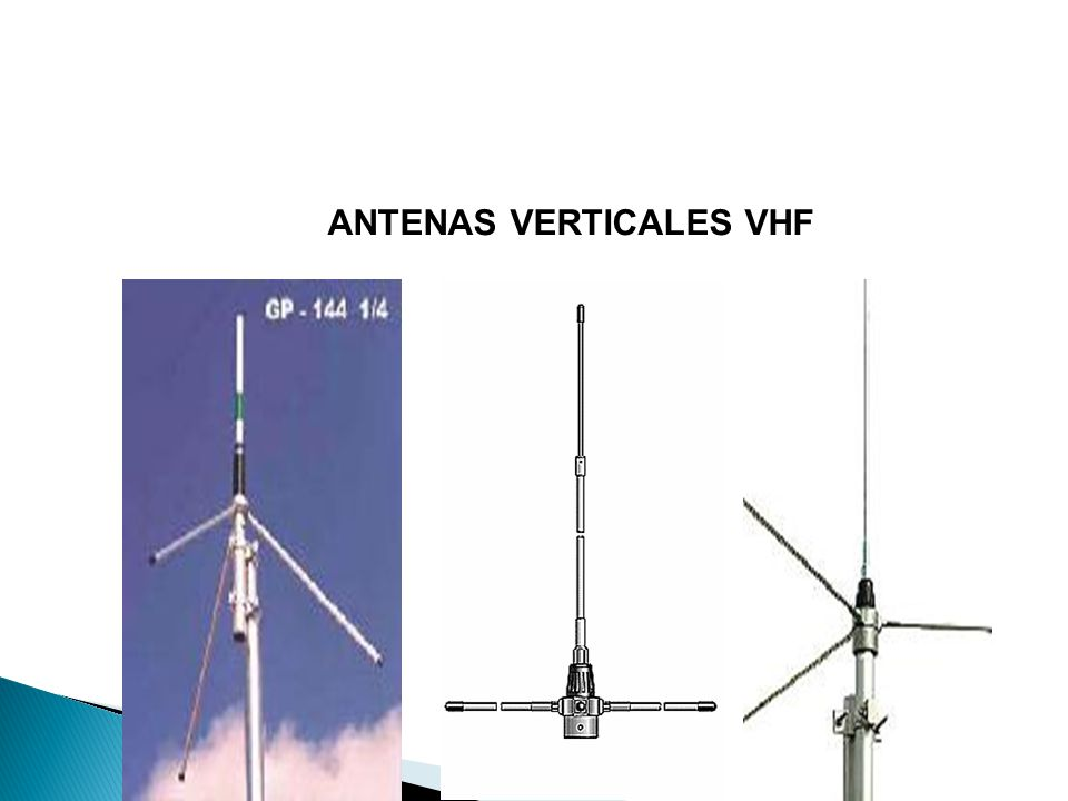ANTENAS VERTICALES VHF