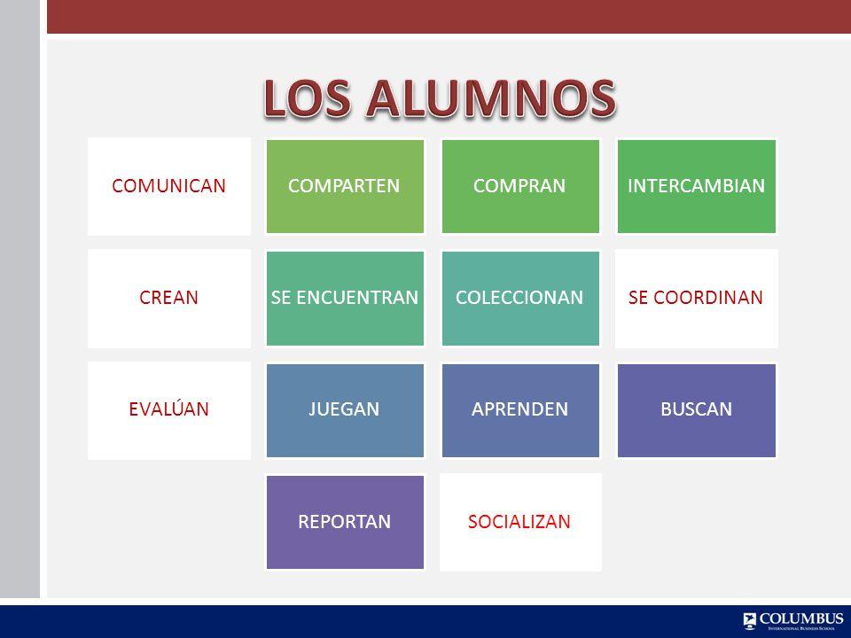 LOS ALUMNOS COMUNICAN COMPARTEN COMPRAN INTERCAMBIAN CREAN