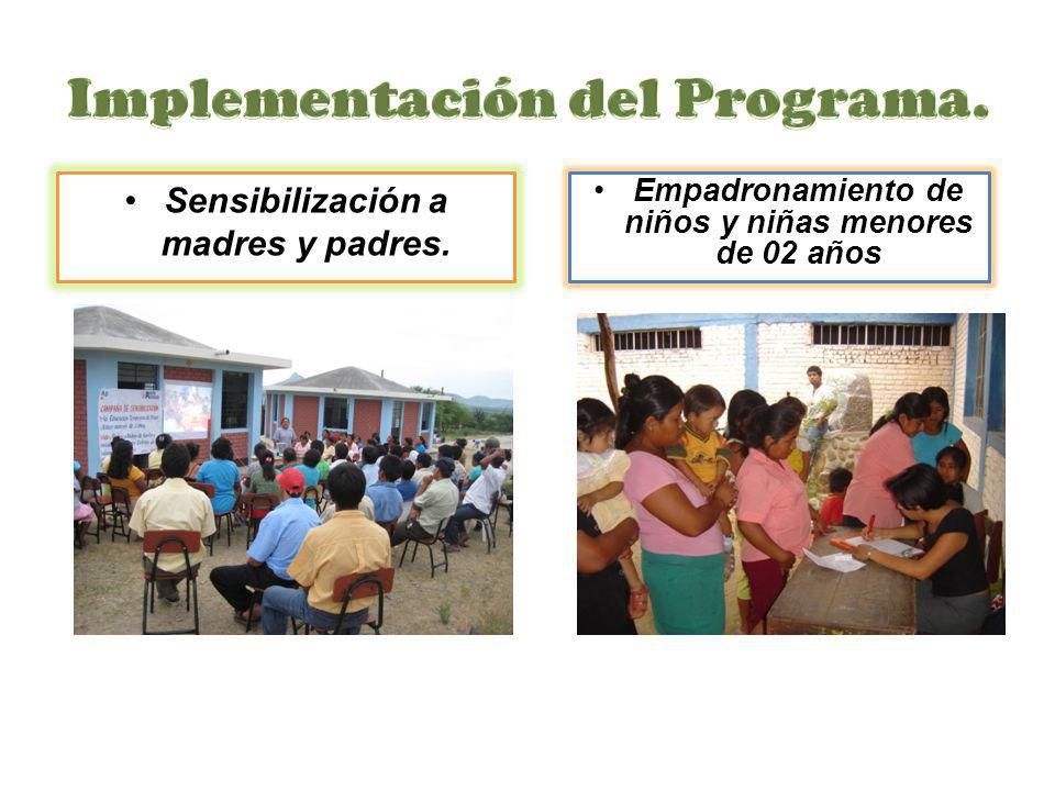 Implementación del Programa.
