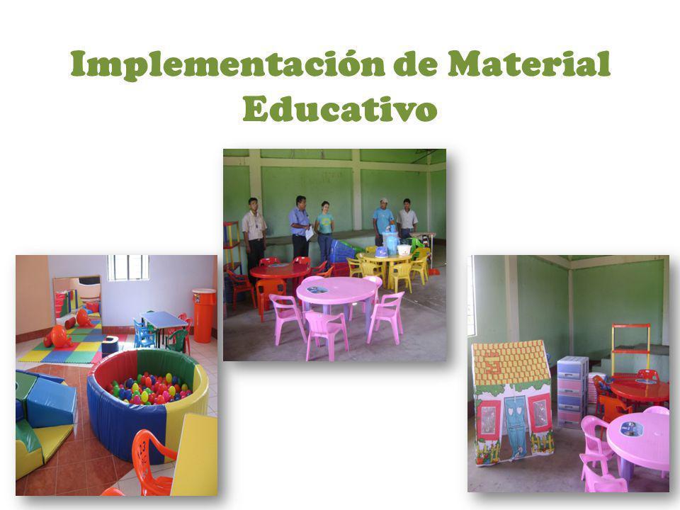 Implementación de Material Educativo