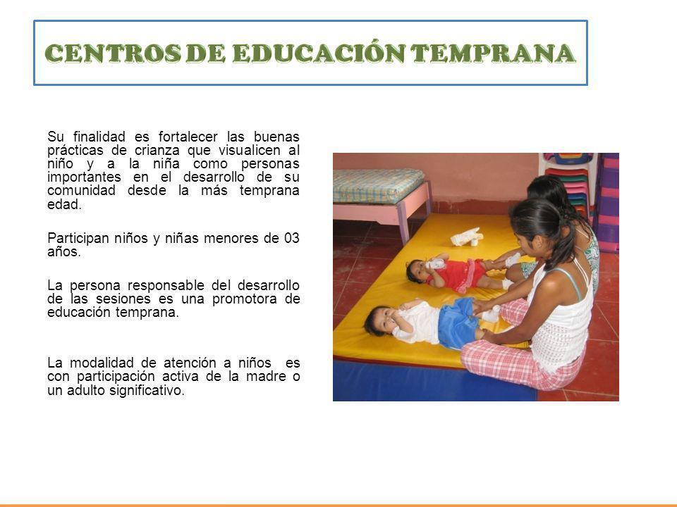 CENTROS DE EDUCACIÓN TEMPRANA