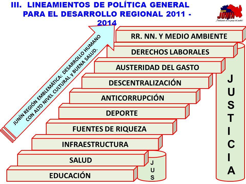JUSTICIA RR. NN. Y MEDIO AMBIENTE DERECHOS LABORALES