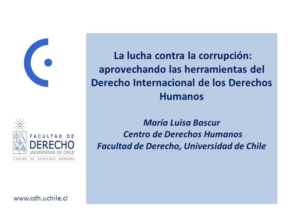 Centro de Derechos Humanos Facultad de Derecho, Universidad de Chile