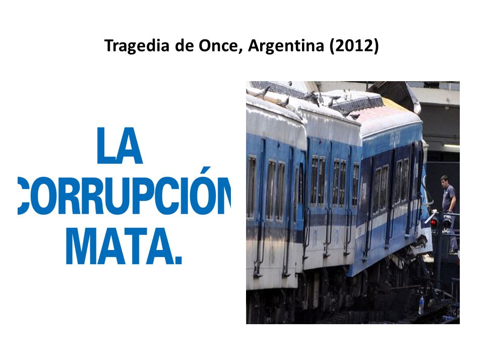 Tragedia de Once, Argentina (2012)
